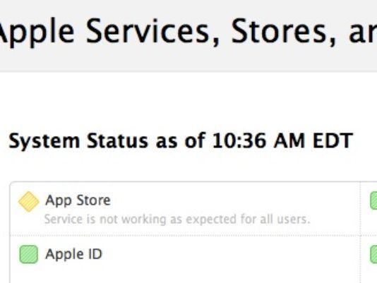 App Store status Besz@rt az App. Store.